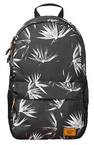 1eb2305d73 Image is loading Timberland-Rucksack-Black-Print-Backpack -School-Casual-Work-