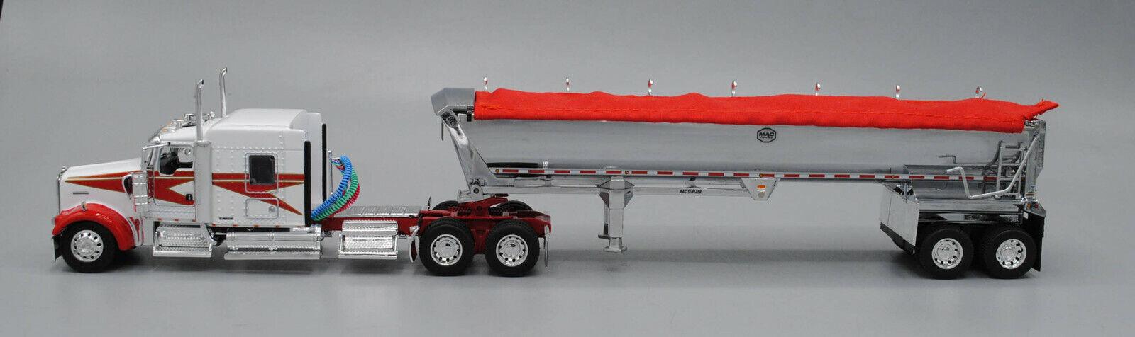 DCP blancoo Rojo Kw W900L 72  Rojo rojoondo De Mac Durmiente Cromo Lona de volcado 1 64 0490