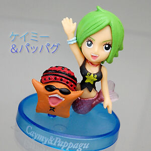 One Piece Collection New World Fishman Island Deep Sea Figurine Pappug & Keimi