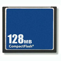50 X 128mb Compact Flash Standard Cf Memory Card Generic Brand W/cases