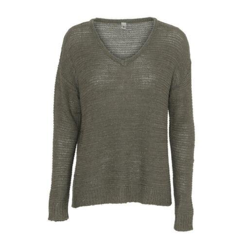 soyaconcept Glenda 1 leichter Damen Pullover in Army//Oliv
