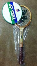 Racchetta Tennis YONEX COUGUSS 7200 (P.Fleming) vintage In legno - NUOVA!!