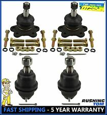 4pc Upper & Lower Ball Joint K2500 K1500 Tahoe Suburban 4WD Stamped Arm W/45.79