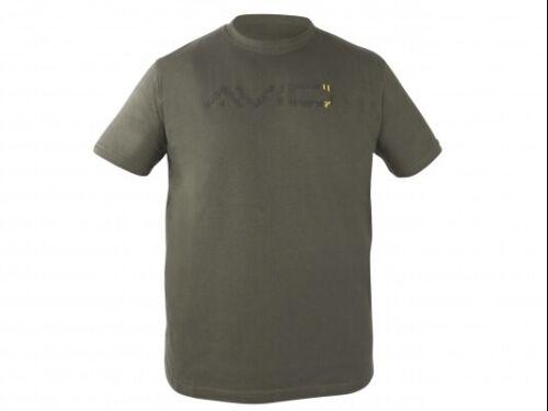 Avid Green T Shirt *All Sizes* NEW Carp Fishing T Shirt