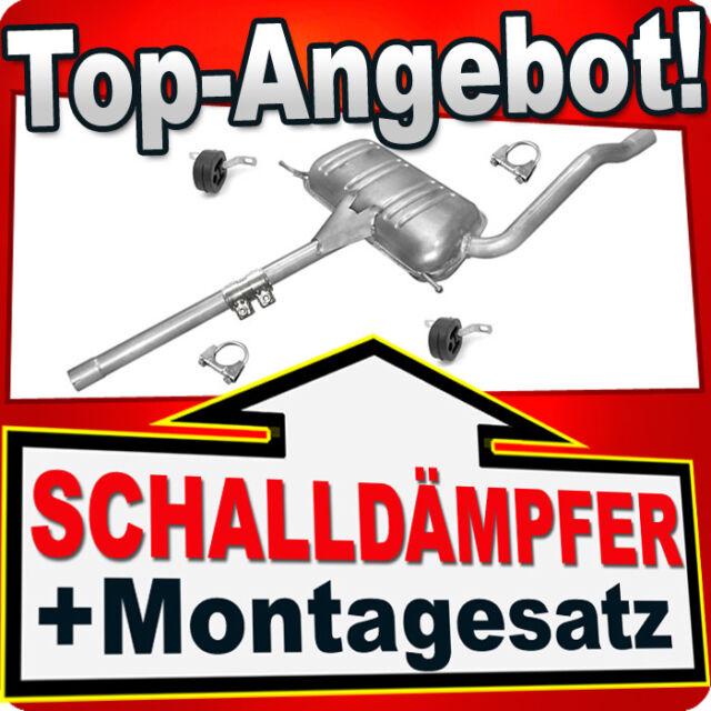 Montagezubehör VW PASSAT 1.8 125PS 1995-2000 Auspuff Auspuffanlage