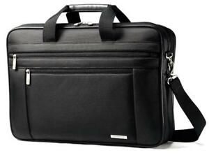 Samsonite-Classic-Business-Cases-17-034-Two-Gusset-Laptop-Briefcase-in-Black