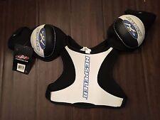 Hespeler RX10 Youth Large Hockey Shoulder Pads . NEW Skate Team Kid Highschool