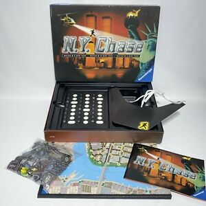 Ravensburger NY Chase Board Game Mister X 100% Complete 1999