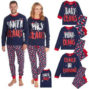 Family Matching Xmas Pyjamas Kids Adult Dog Christmas Pyjamas Nightwear Pjs Sets Ebay