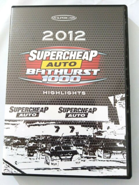 V8 Supercars DVD 2012  Supercheap Bathurst 1000 Highlights Motor Sport