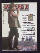 MUCCHIO SELVAGGIO 129/1988 U2 SYLVIAN JERRY LEE LEWIS POLANSKI CHARLIE PARKER