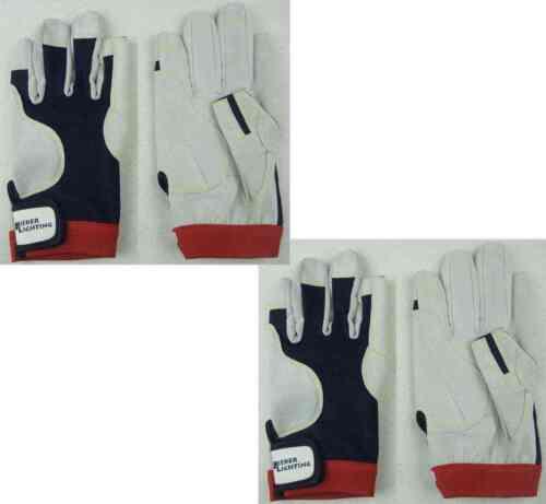 2 Paar BluePort Segelhandschuhe AMARA PRO Gr. M (8) Rigginghandschuhe Handschuhe