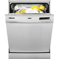 Zanussi Zdf26011xa Freestanding 60cm 'a+aa' Rated White Dishwasher