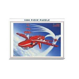 Humatt-Red-Arrows-039-Inverted-039-Jigsaw-Puzzle-1000-pieces-LESS-THAN-HALF-PRICE