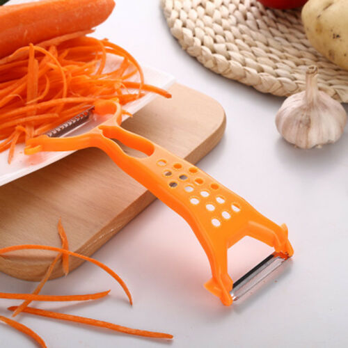 1x Kitchen Double-end Peeler Fruit Tools Tools Paring Cutter
