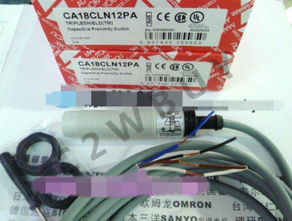 ONE CARLO GAVAZZI capacitive proximity switches CA18CLN12PA