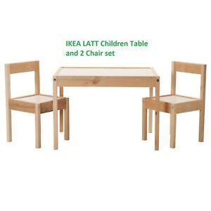 Image Is Loading Ikea Latt Children 039 S Table And 2