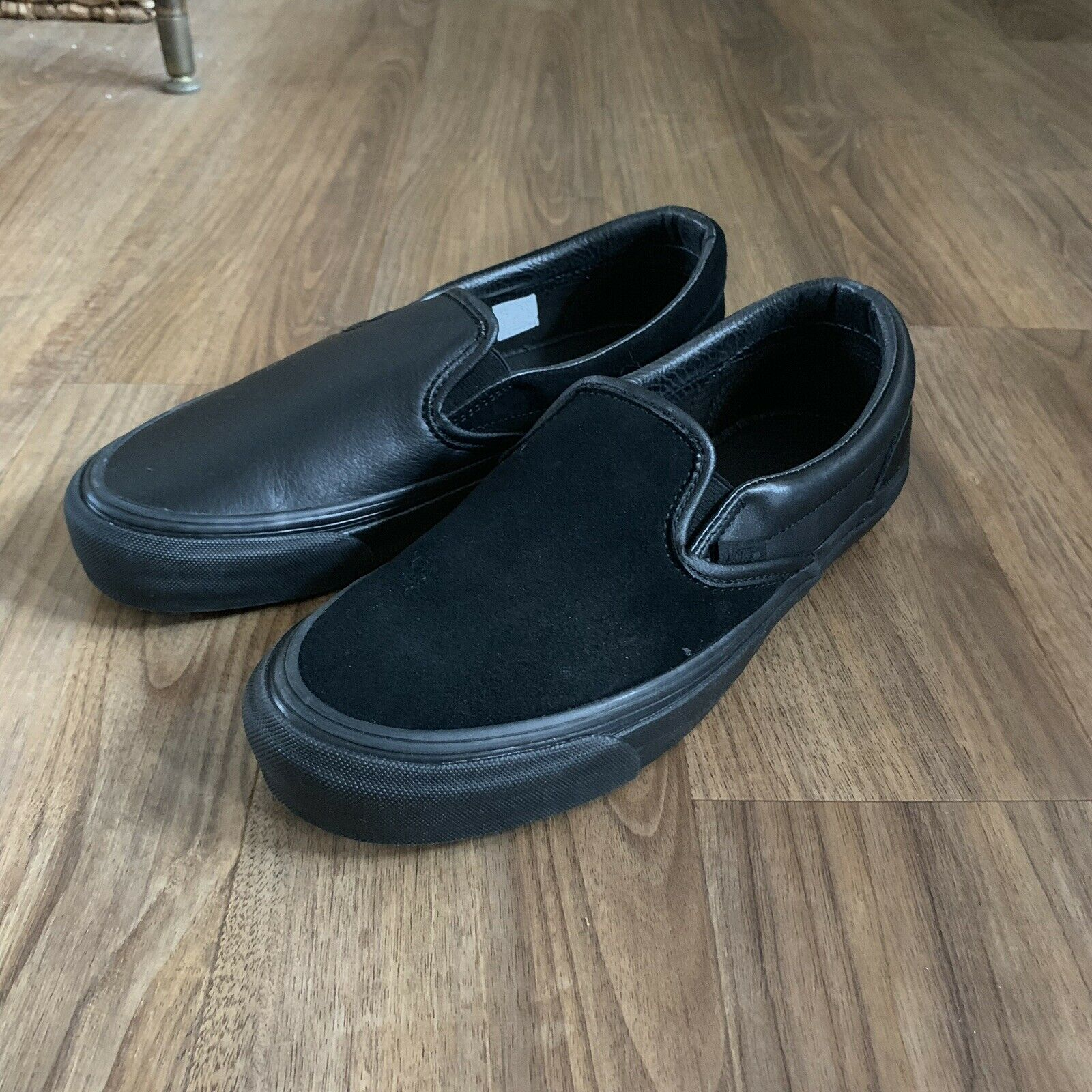 Vans Vault x Engineered Garments OG Classic  Slip On LX Black Size 7.5