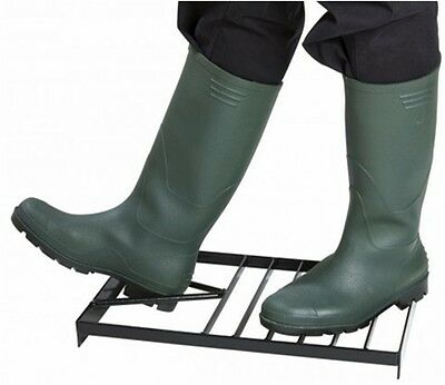 Garland Black Plastic Boot Tray Sturdy Wellington Welly /& Shoe Storage