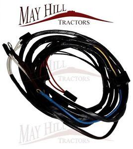 massey ferguson 135 tractor wiring harness loom alternator. Black Bedroom Furniture Sets. Home Design Ideas