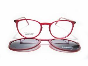 Occhiale Da Vista / Eyeglasses Lotus Lv258-3 + Clip Sole/sun Magnetico Polarized VL1vZ1