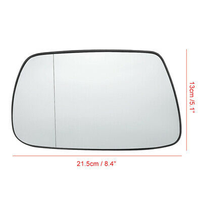 Right Driver side wing mirror glass for Skoda Superb 2001-2006 Heated