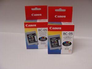 2-x-Original-Canon-BC-05-BC05-0885A002-Patrone-BJC-200-series-BJC-1000-series