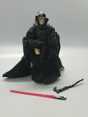 3.75/'/' Hasbro Star Wars Emperor Palpatine Action Figure Collectible Toys 1998