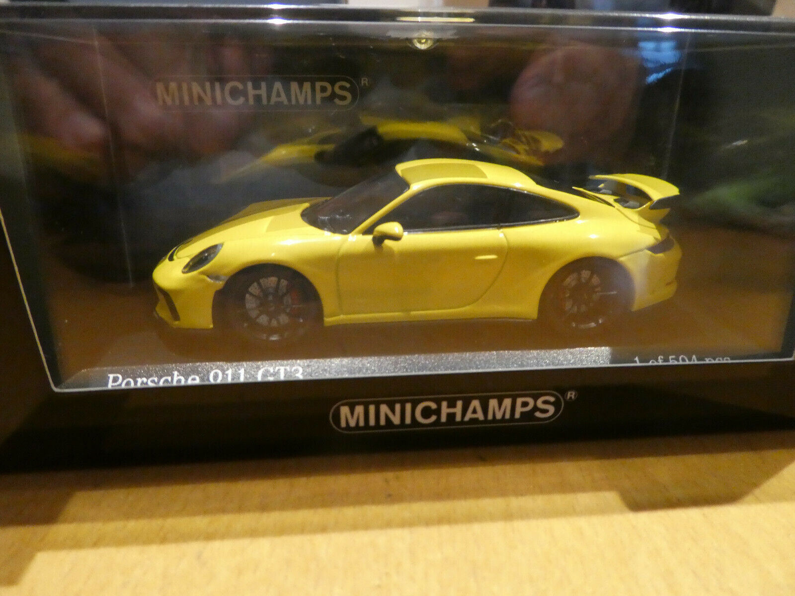 Porsche 911 gt3 2016 racingamarillo amarillo amarillo 1 43 Minichamps 410066020