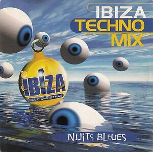 Ibiza-Techno-Mix-CD-Single-Nuits-Bleues-Promo-France-EX-M