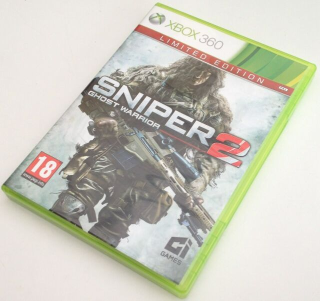 xbox 360 SNIPER GHOST WARRIORS 2 pal fr complet microsoft