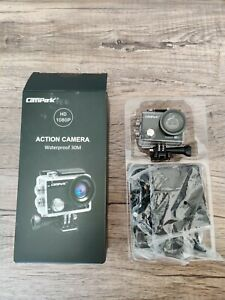 Campark ACT68 Action Camera - Waterproof WiFi 4K & FHD 1080P with Accessories