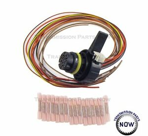 chevy gmc 6l80 6l90 transmission rostra repair wiring harness kit rh ebay com Dodge Wiring Harness Engine Wiring Harness