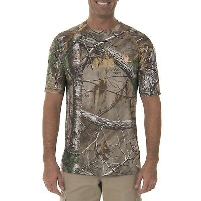 Long Sleeve Flex Raglan Performance T-Shirt w Insect Repellent REALTREE XTRA 2XL