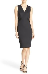 TED-BAKER-London-034-Aaleyad-039-Ottoman-Detail-Neoprene-Sheath-Dress-sz-5-US-14