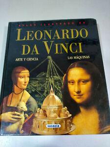 Leonardo-Da-Vinci-Atlas-ilustrado-Arte-Ciencia-Maquinas-Libro-Tapa-Dura-232-pags