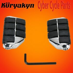 Kuryakyn-Chrome-Dually-ISO-Pegs-Without-Adapters-7963