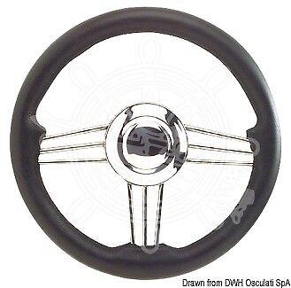 OSCULATI mm Steuerrad graue Krone 350 mm OSCULATI 7ec314