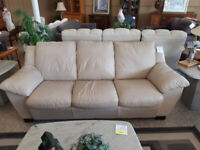Tan Leatherette Couch + Loveseat Winnipeg Manitoba Preview