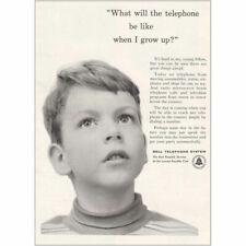 1953 Bell Telephone Transistor Vintage Print Ad