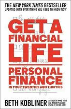 Get a Financial Life : Beth Kobliner, Advanced Reader Copy, ARC, softcover, 2016