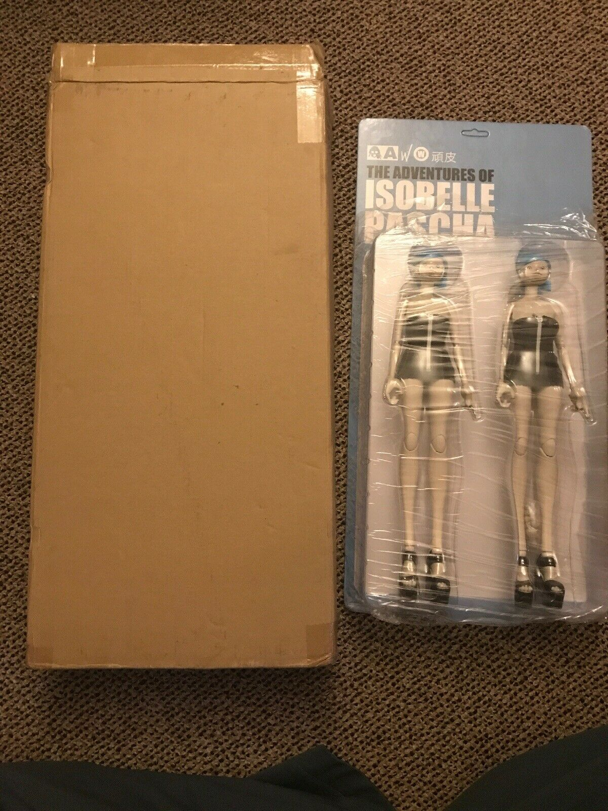 ThreeA Ashley Wood 3A World PASCHA WANPI SISTER wampi 1 6 SCALE Set Unopened MOC