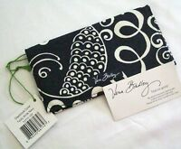 Vera Bradley Twirly Birds Navy Checkbook Case Cover For Purse Tote Backpack