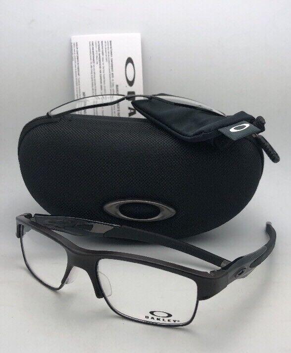 ca2d43890fd7a Oakley Glasses Frames 3128 Crosslink Switch 312802 Pewter Men 55mm for sale  online
