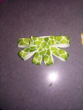Sherie's Unique Boutique, Girls Hair Bow, Green Multi