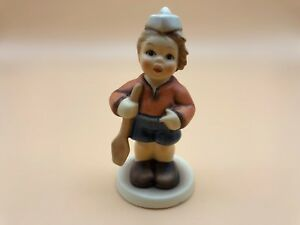 Hummel-Figurine-2148-B-I-Would-like-To-with-Rowing-4-1-8in-1-Choice-Top