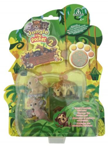 T335X Giochi Jungle in My Pocket Serie 2 Figuren S4
