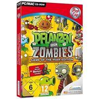 Pc Computer Spiel Pflanzen Gegen Zombies Game Of The Year Edition Neunew