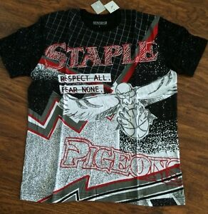 a7f8a02a MENS STAPLE RESPECT ALL FEAR NONE IN BLACK SIZE LARGE!!! | eBay