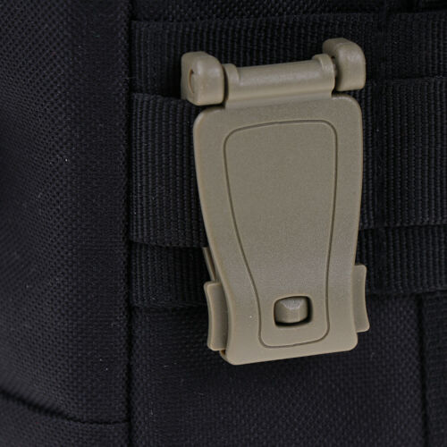 Molle Strap Backpack Bag Webbing Connecting Buckle Clip Backpack Accessory  ^S
